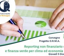 Reporting non finanziario delle PMI e finanza verde per clima ed economia circolare