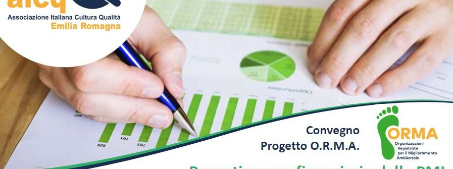 Reporting non finanziario delle PMI e finanza verde per clima ed economia circolare.
